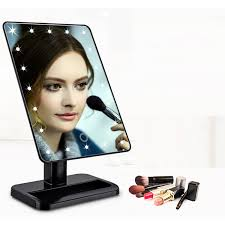 Professional Makeup Stand Led Mirror Professional Makeup Mirror Led Fashion Women Lady