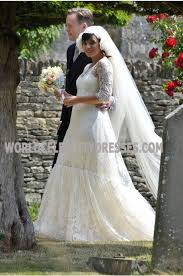 Wedding Dress For Less Lily Allen Lace Pretty Celebrity Wedding Dresses For Less
