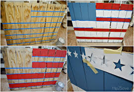 outstanding pallet painting ideas 12 how to paint a pallet flag u2013 hip2save