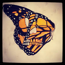 butterfly skull 1 design 2 final filter by snco art0713 on deviantart