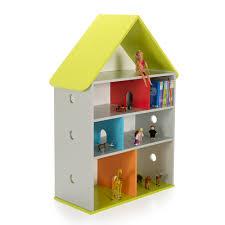 accessoire bureau rigolo bibliothèque de rangement pour enfant 115x84cm loupi alinea