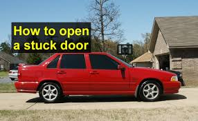 volvo xl 70 how to open a stuck door latch volvo s70 v70 xc70 etc auto