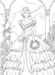 pretty princess coloring pages coloringstar