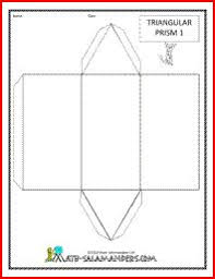 printable foldable 3d triangular pyramid template color it cut