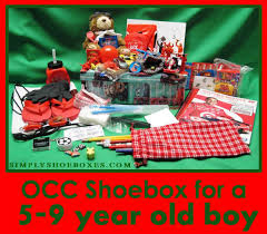 simply shoeboxes operation christmas child shoebox for 5 9 year