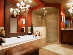 bathroom design magnificent blue and brown bathroom red white