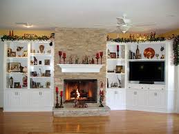 Bookshelf Around Fireplace Built In Cabinets Around Fireplace Give Special Accent To A