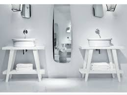 Console Sink Menhir Wooden Console Sink By Falper Design Paola Navone