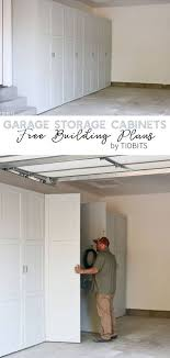 how to make storage cabinets these diy garage storage cabinets make home base
