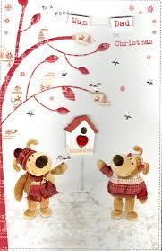 boofle mum u0026 dad christmas greeting card cards love kates