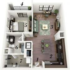 3 inspiring studio apartment design plans that you can follow to