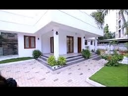 2000 square feet contemporary style home worth 45 lakh dream