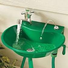 Connecting Garden Hose To Kitchen Faucet Build An Outdoor Sink And Connect It To The Outdoor Spigot
