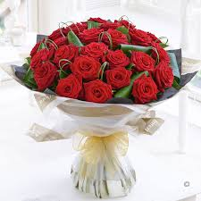 Red Rose Bouquet Roses Flower Delivery Isle Of Wight Flowers