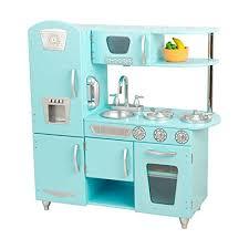 kidkraft cuisine vintage kidkraft vintage kitchen in blue cooking baking kits amazon canada
