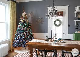 Christmas Livingroom A Blue Christmas Inspired By Charm