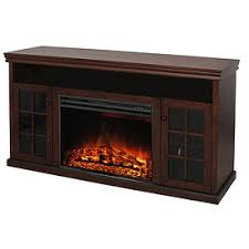Tv Stands With Electric Fireplace Shop Electric Fireplaces At Lowes