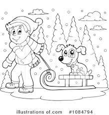 winter clipart 1084794 illustration by visekart