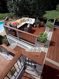 multilevel deck design ideas by archadeck st louis decks loversiq