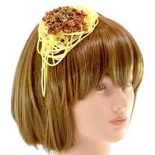 hair bands japanese realistic food hair accessories geekologie