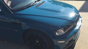rare 2001 bmw m3 coupe laguna seca blue stage 2 paint correction