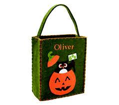 make your child u0027s halloween costume say u0027boo u0027 with a pumpkin treat bag