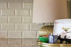 Subway Tile Kitchen Backsplash Another Irredescent Tile Kitchen - Subway tiles kitchen backsplash