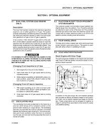 section 5 optional equipment 1 dual fuel system gas engine only