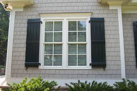 brown window and shutter cream trim taupe siding colors for