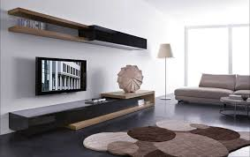 living room customized modern living media room design with