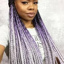 gray marley braid hair catface hair black lilac grey ombre jumbo braiding hair catface hair