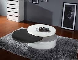 furniture u0026 accessories black tempered glass coffee table modern