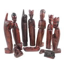 African Home Decor An African Nativity Set Made In Uganda Out Of Jacaranda Wood
