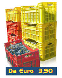 cassette per raccolta olive contenitori e pallet in plastica per tutti i settori