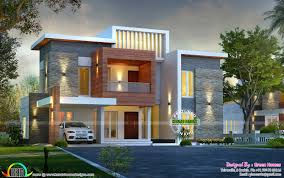 awesome contemporary style 2750 sq ft home kerala home design