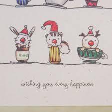 aliexpress com buy merry christmas cards cartoon animals xmas