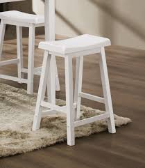 Bar Stool For Kitchen Furniture Kitchen Furniture Sweet White Vinyl Upholstery Bar