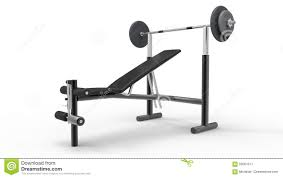 bench press stock photo image 59001671