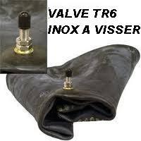 chambre a aire moto a air arrière 22 11 10 pouces munie d une valve inox a visser