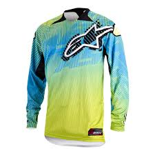 alpinestars motocross jersey alpinestars charger motocross jersey lime green motorcycle