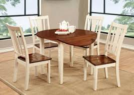 Black Drop Leaf Kitchen Table by Dinettes Plus Dover Ll Black U0026 Cherry Round Drop Leaf Dining Table