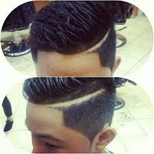 haircuts with lines on the sides women medium haircut