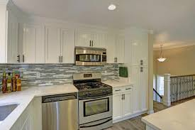 kitchen design white cabinets white appliances the best appliance finish for your kitchen design