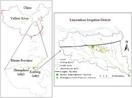 Yellow River Map Integrated Modeling Of Conjunctive Water Use In A Canal Well