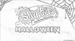 happy halloween shopkins coloring pages printable