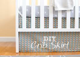 nursery progress diy crib skirt and lazy mitered corner hem
