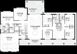 4 bedroom house plans u0026 home designs perth vision one homes