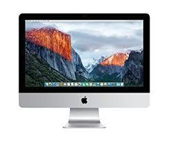 ordinateur bureau mac apple imac 2 8 ghz 21 5 1920 x 1080pixels argent ordinateur de