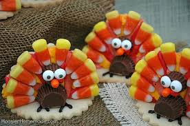 thanksgiving turkey cookies hoosier