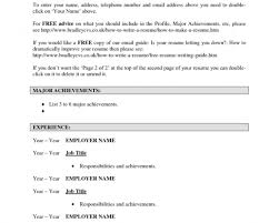 resume professional resume template free online horrible